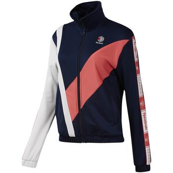 tekstylia Damskie Bluzy Reebok Sport DT7262 Niebieski