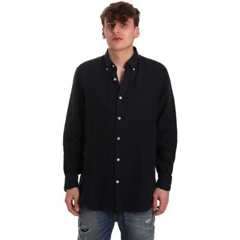 tekstylia Męskie Koszule z długim rękawem Navigare NV91108 Niebieski