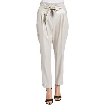 tekstylia Damskie Spodnie Gaudi 011FD25031 Szary