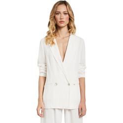 tekstylia Damskie Kurtki / Blezery Gaudi 011FD35012 Biały