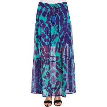 tekstylia Damskie Spódnice Gaudi 011FD75003 Fioletowy