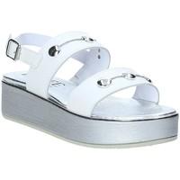 Buty Damskie Sandały Susimoda 285625-01 Biały