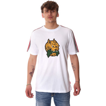 tekstylia Męskie T-shirty z krótkim rękawem Sprayground 20SP032WHT Biały