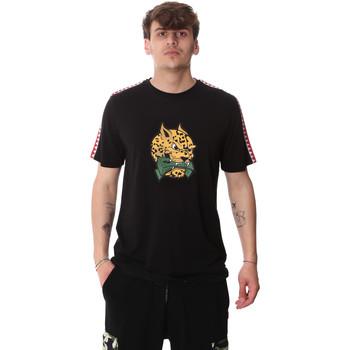 tekstylia Męskie T-shirty z krótkim rękawem Sprayground 20SP032BLK Czarny