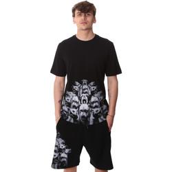 tekstylia Męskie T-shirty z krótkim rękawem Sprayground 20SP012 Czarny