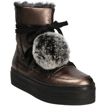 Buty Damskie Śniegowce Mally 5991 Szary