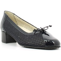 Buty Damskie Czółenka Grace Shoes E6301 Niebieski