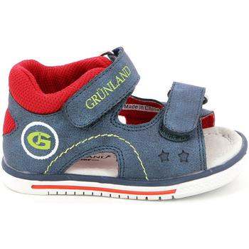 Buty Dziecko Sandały Grunland PS0017 Niebieski