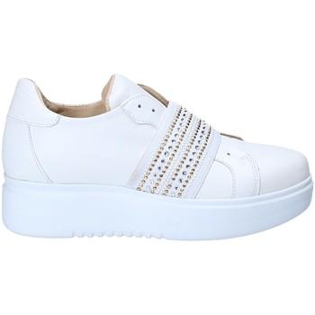 Buty Damskie Trampki niskie Exton E05 Biały
