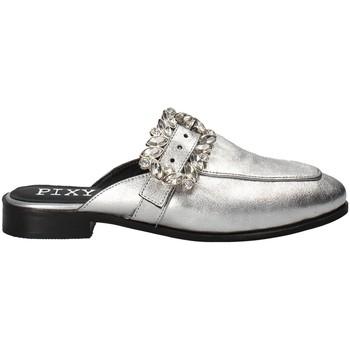 Buty Damskie Chodaki Pixy Shoes 8062204 Szary