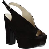 Buty Damskie Sandały Grace Shoes TQ 107 Czarny