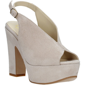 Buty Damskie Sandały Grace Shoes TQ 107 Beżowy