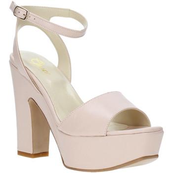 Buty Damskie Sandały Grace Shoes TQ 106 Różowy