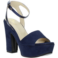 Buty Damskie Sandały Grace Shoes TQ 106 Niebieski