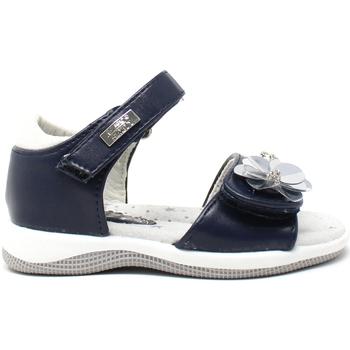 Buty Dziewczynka Sandały Miss Sixty S19-SMS570 Niebieski