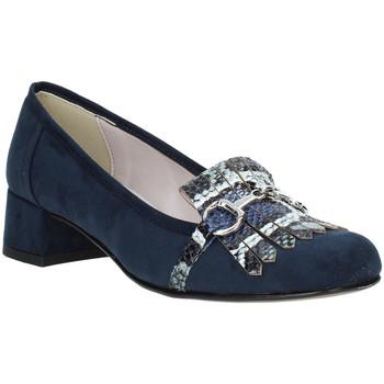 Buty Damskie Mokasyny Grace Shoes 171002 Niebieski