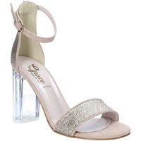 Buty Damskie Sandały Grace Shoes 018TR003 Beżowy