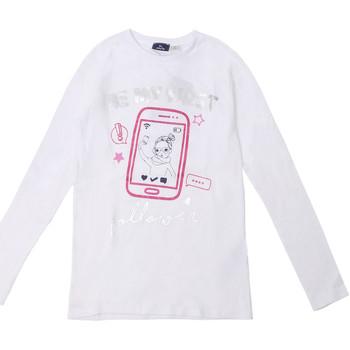 tekstylia Dziecko T-shirty z długim rękawem Chicco 09006871000000 Biały
