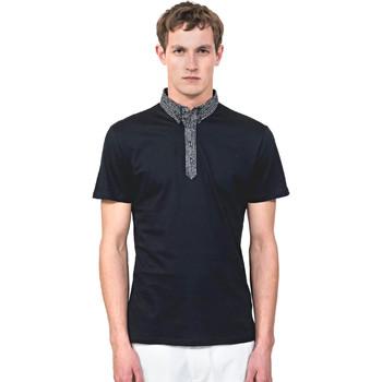 tekstylia Męskie Koszulki polo z krótkim rękawem Antony Morato MMKS01489 FA100084 Niebieski