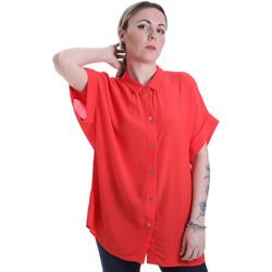 tekstylia Damskie Koszule Calvin Klein Jeans K20K201950 Czerwony
