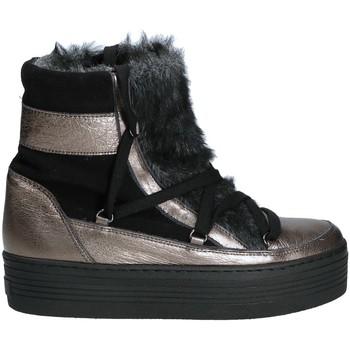 Buty Damskie Śniegowce Mally 5990 Szary