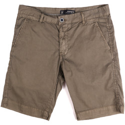 tekstylia Męskie Szorty i Bermudy Key Up 2P17A 0001 Brązowy