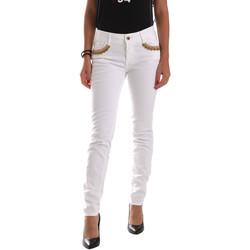tekstylia Damskie Chinos Gaudi 911BD26030 Biały