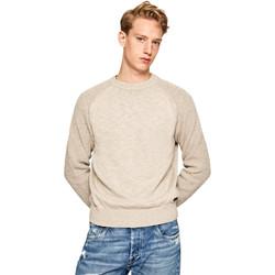 tekstylia Męskie Swetry Pepe jeans PM701989 Beżowy