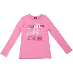 tekstylia Dziecko T-shirty z długim rękawem Chicco 09006871000000 Różowy