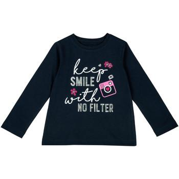 tekstylia Dziecko T-shirty z długim rękawem Chicco 09006871000000 Niebieski