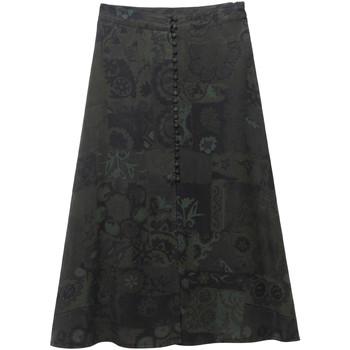 tekstylia Damskie Spódnice Desigual 19WWFW16 Zielony