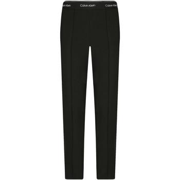 tekstylia Damskie Chinos Calvin Klein Jeans K20K201765 Czarny