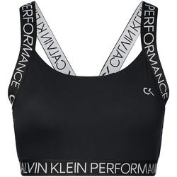 tekstylia Damskie Biustonosze Calvin Klein Jeans 00GWH9K169 Czarny