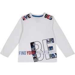 tekstylia Dziecko T-shirty z długim rękawem Chicco 09006867000000 Biały