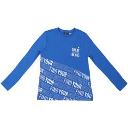tekstylia Dziecko T-shirty z długim rękawem Chicco 09006867000000 Niebieski