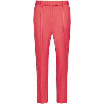 tekstylia Damskie Spodnie z lejącej tkaniny / Alladynki Calvin Klein Jeans K20K201764 Różowy