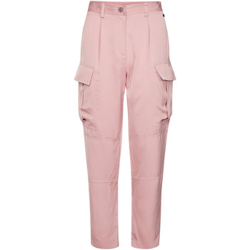 tekstylia Damskie Spodnie bojówki Calvin Klein Jeans K20K201768 Różowy