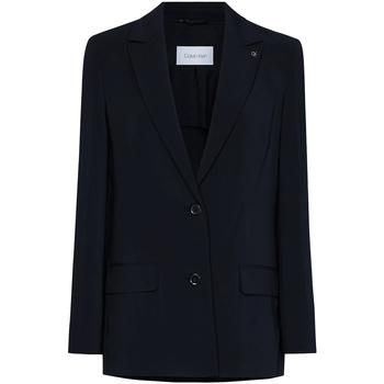 tekstylia Damskie Kurtki / Blezery Calvin Klein Jeans K20K201776 Czarny