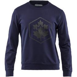 tekstylia Męskie Bluzy Lumberjack CM60142 001 502 Niebieski