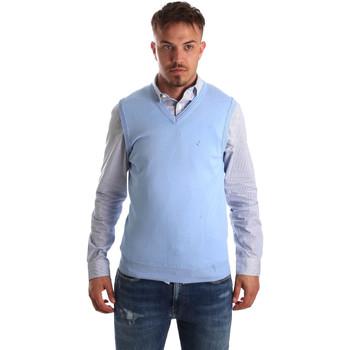 tekstylia Męskie Swetry rozpinane / Kardigany Navigare NV00165 21 Niebieski