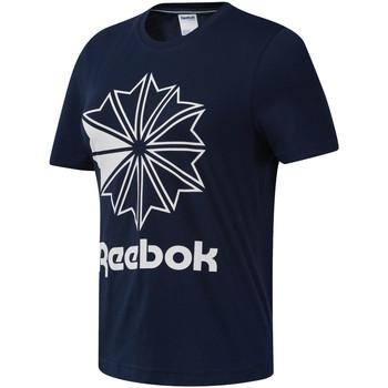 tekstylia Damskie T-shirty z krótkim rękawem Reebok Sport DT7222 Niebieski