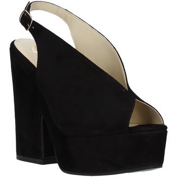 Buty Damskie Sandały Grace Shoes ALBA 107 Czarny