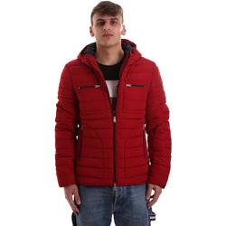 tekstylia Męskie Kurtki pikowane Gaudi 921BU35019 Czerwony