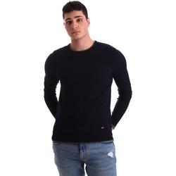 tekstylia Męskie Swetry Gaudi 921BU53036 Niebieski