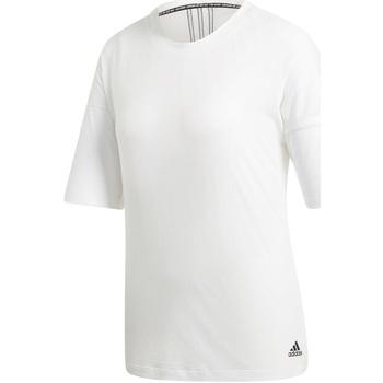 tekstylia Damskie T-shirty z krótkim rękawem adidas Originals EB3821 Biały