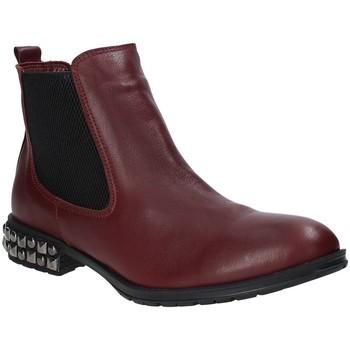Buty Damskie Botki Bueno Shoes 9M3402 Czerwony