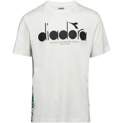 tekstylia Męskie T-shirty z krótkim rękawem Diadora 502176630 Beżowy