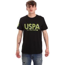 tekstylia Męskie T-shirty z krótkim rękawem U.S Polo Assn. 57197 49351 Czarny