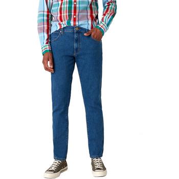 tekstylia Męskie Jeansy slim fit Wrangler W18SHR36B Niebieski