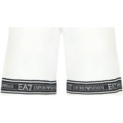 tekstylia Męskie Kostiumy / Szorty kąpielowe Emporio Armani EA7 3HPS56 PJ05Z Biały